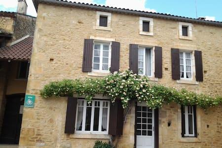 village traditional stone house - Saint-Martin-le-Redon