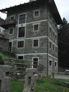 Grazioso bilocale vista Monte Rosa - Riva Valdobbia - อพาร์ทเมนท์