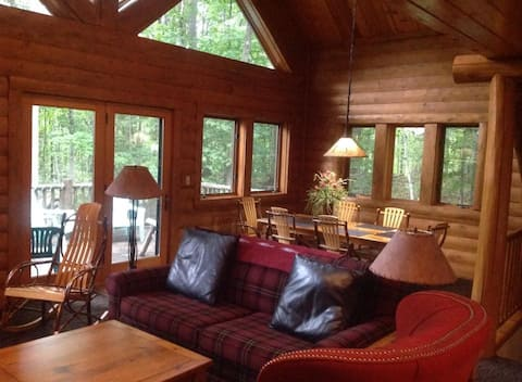 Boyne Mountain Luxury Cabin