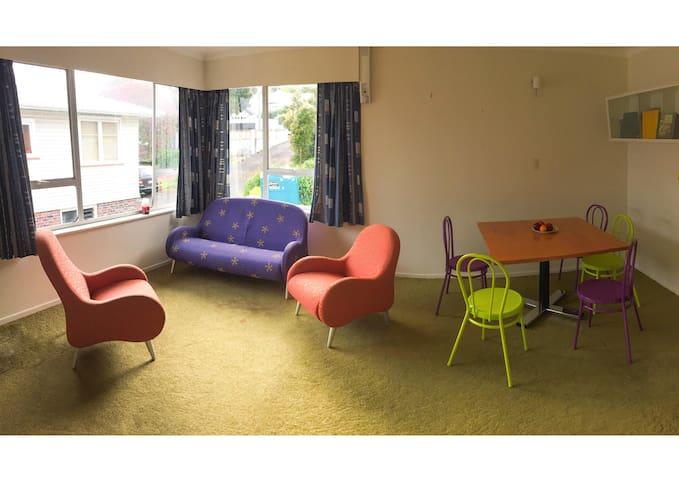 Sunny queen size, mandarin bedroom! - Auckland - Rivitalo
