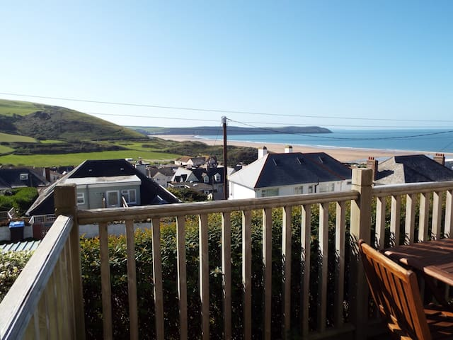Spacious apartment near beach - Woolacombe
