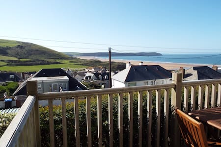Spacious apartment near beach - Woolacombe - Lejlighed