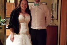 SO delighted to meet and host Michelle & Stephen  on their wedding eve! xo (October '15)