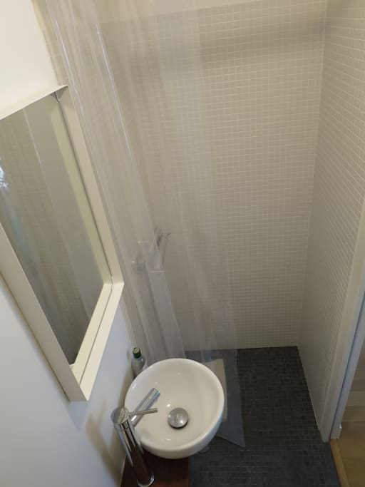 Partial bathroom view