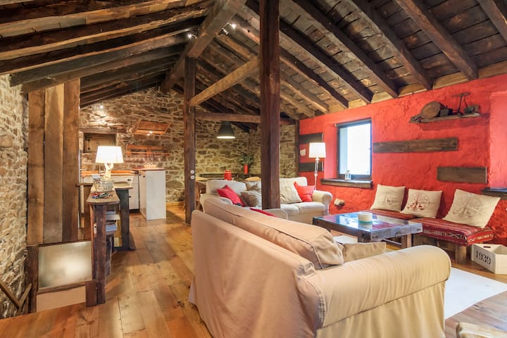 Cabaña Con Encanto 5 Personas 2 Dormitorios