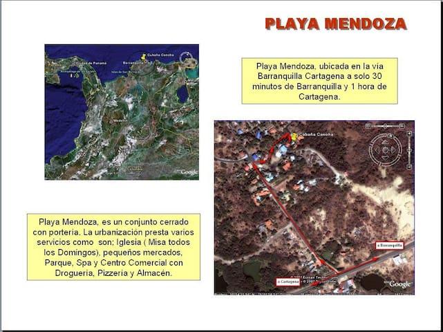Playa Mendoza, Relax, Paz y Playa - Tubará - Cottage