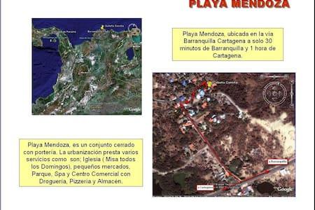 Playa Mendoza, Relax, Paz y Playa - Tubará