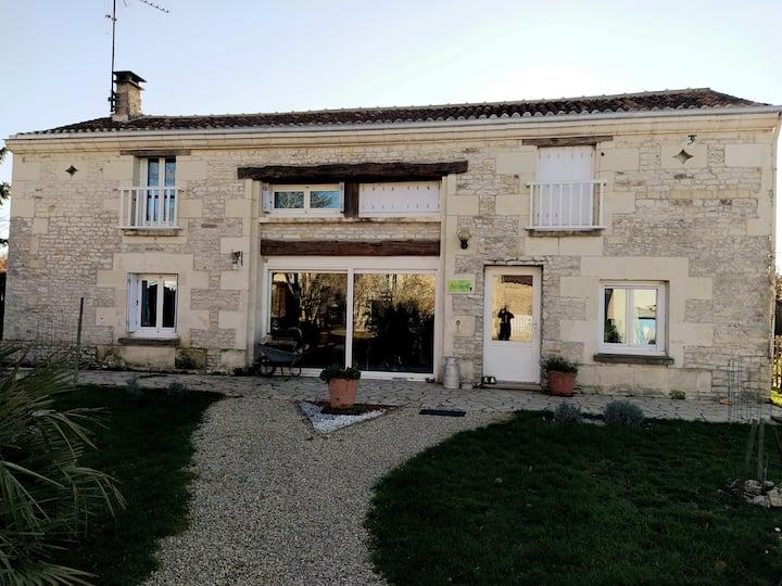 Chambres d'hôtes près de Chinon, Saumur et Loudun