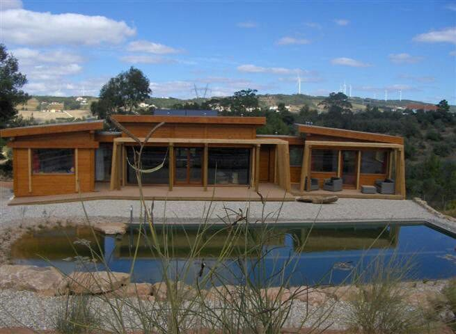 Your Ecohouse & Biopool near Lisbon - Almagra, Carvoeira, Torres Vedras - Huis