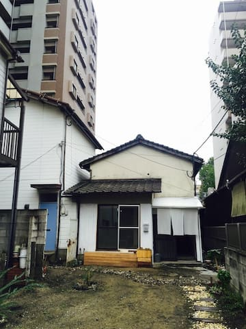 private house rent / Fukoka airport 14min by taxi - Fukuoka-shi - Casa