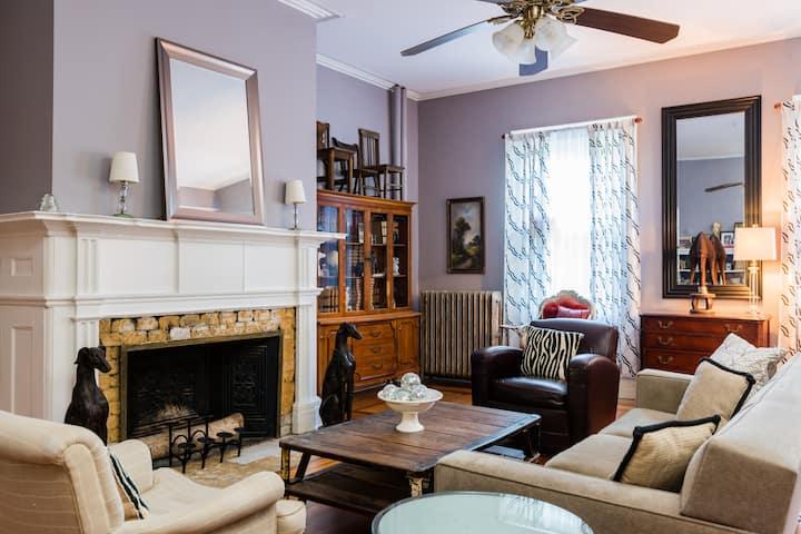 Josephine Baker suite at Gardner Farm Inn