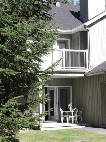 Coquet appartement avec terrasse - Sainte-Adèle - Apartment