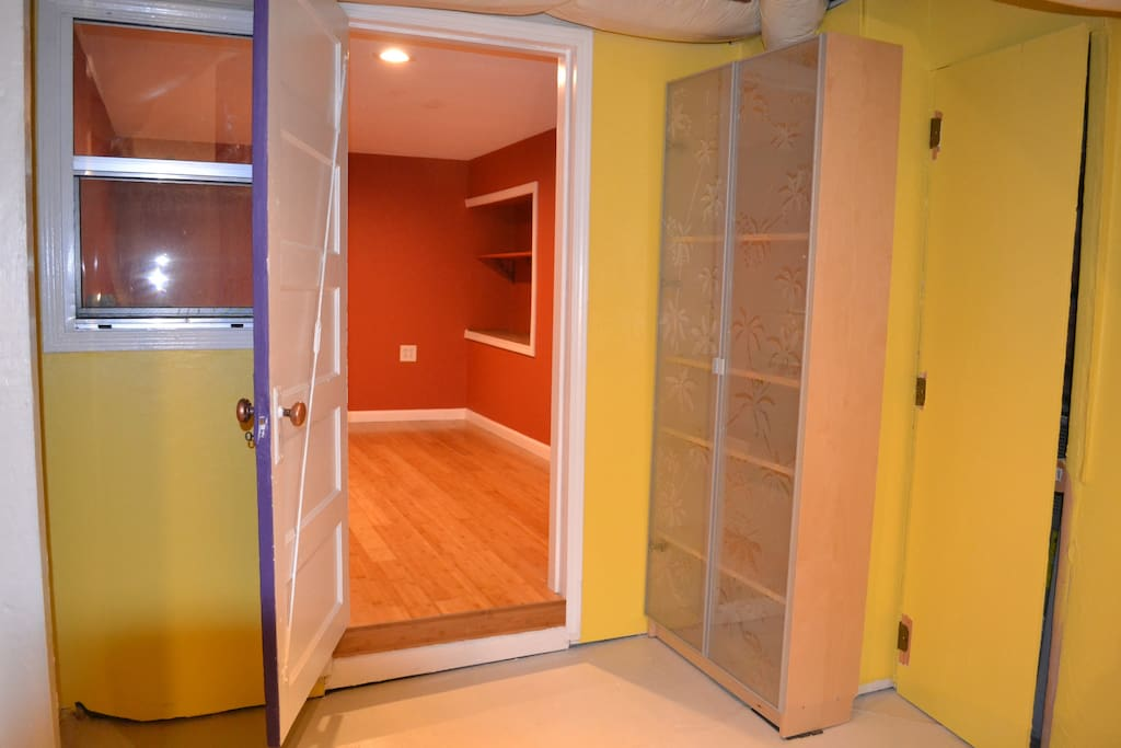 Entrance to downstairs unit