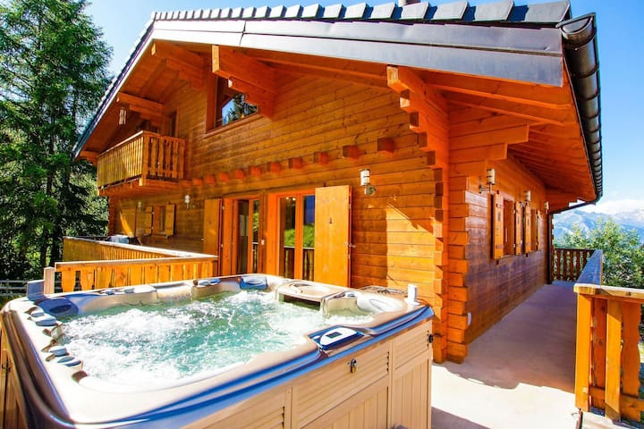Nice Holiday Home in Riddes with Sauna