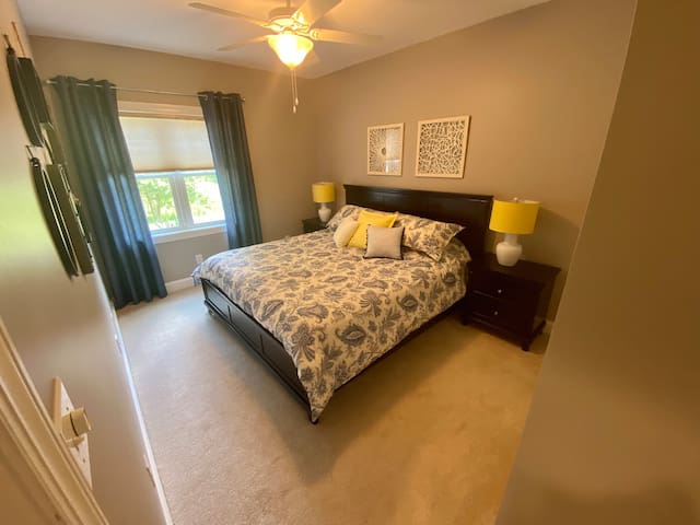 King Bed - family/friends love staying here because of the size and comfort of mattress.