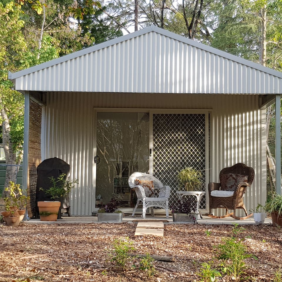 """""""The Bothy"""",self contained studio set in the grounds of Magnolia House."""