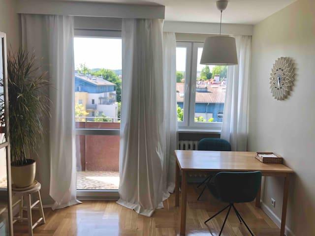 Apartament na ulicy Okrzei