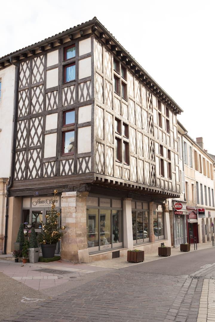 Spacieux appartement (2 chambres) au centre-ville