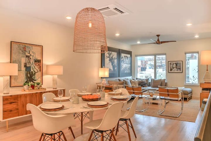 New, Contemporary South Slope Townhome with Private Elevator and Rooftop Terrace