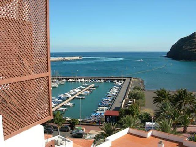 Apartamento con vistas y céntrico. - San Sebastián de La Gomera - Lejlighed