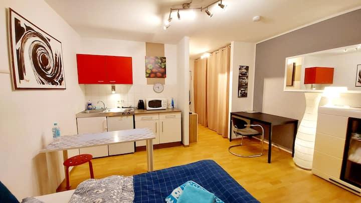 Modernes 1-Zimmer-Studio Nähe MANNHEIM-CITY