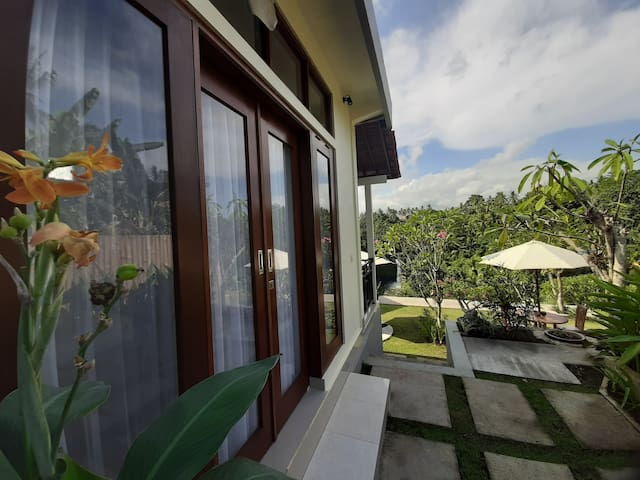 Bumbu Asli Private House  waterfall view