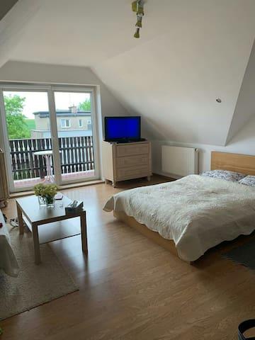 Duży pokój w domku jednorodzinnym