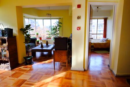 Magnífica vista al Parque Forestal B&B - Santiago - Bed & Breakfast