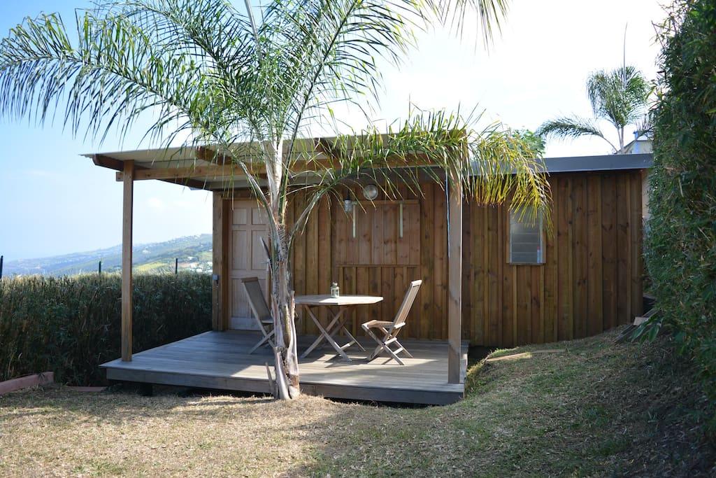 Un bungalow-cabane tout confort