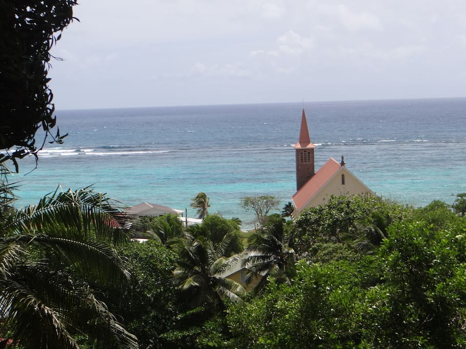 View of Anse Royale Church