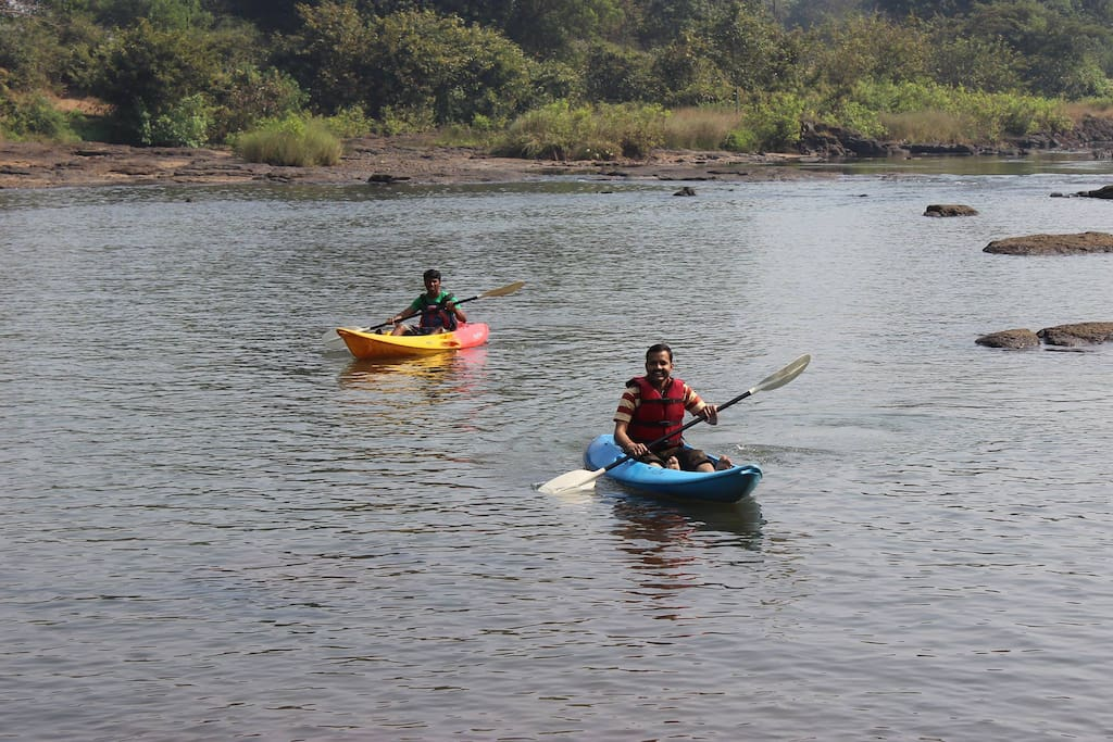 Kayaking Nearby at extra Cost