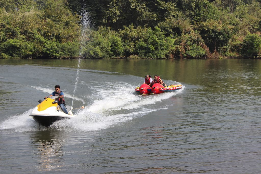 Jet Ski & Water Sports Nearby at Extra Cost