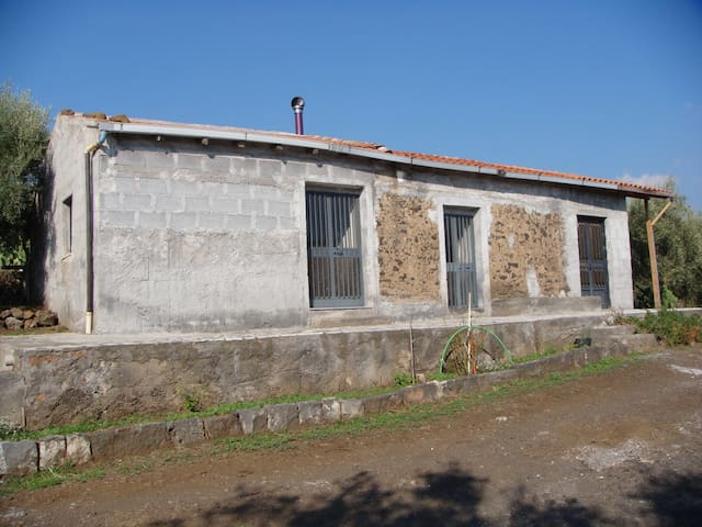Etna_Ragalna(CT) casa rustica antic - Ragalna - Maison