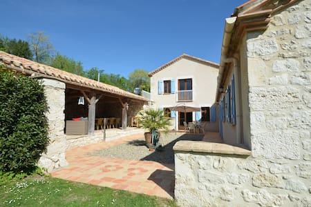 4* holliday house for 10 persons - Saint-Amans-de-Pellagal