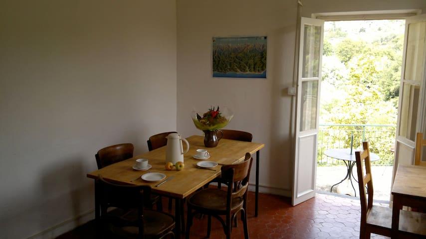 Casa luna Ciantri - Olivetta San Michele - Daire