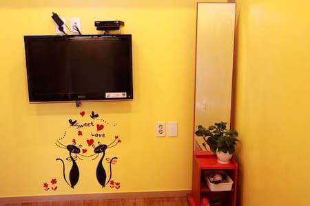 속초해수욕장앞 예쁜 복층형 couple room(달콩) - Casa