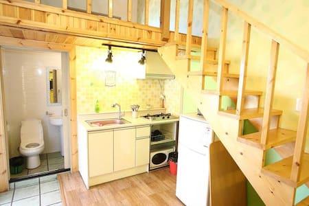 속초해수욕장앞 예쁜 복층형 couple room(달콩) - House