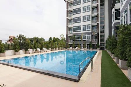 My Hip Condo精品家庭公寓M313紧邻Big C超市 - Nong Pa Khrang - Lägenhet