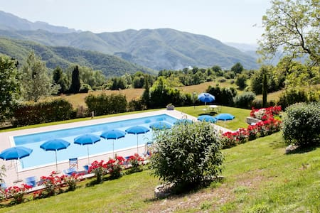 Garfagnana:relax, massage, wi-fi  - Albiano