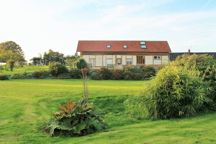 Quiet located house in Normandy - Haudricourt - House