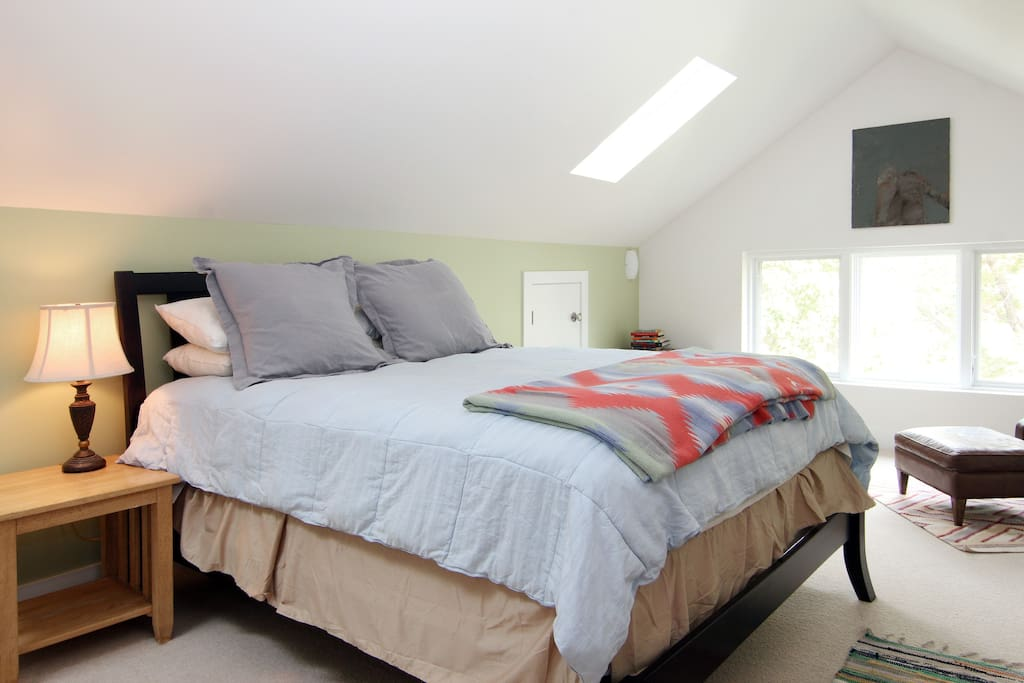 Master Bedroom Suite w/ Skylights (upstairs)