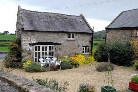 Picturesque Welsh stone cottage. - 一軒家