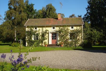 Charming manor by the river - Nänsjö - Dům