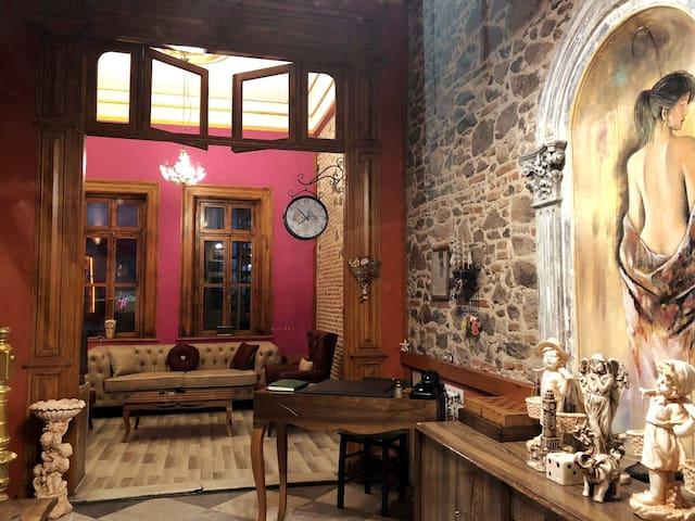 Tarihi çift kişilik oda