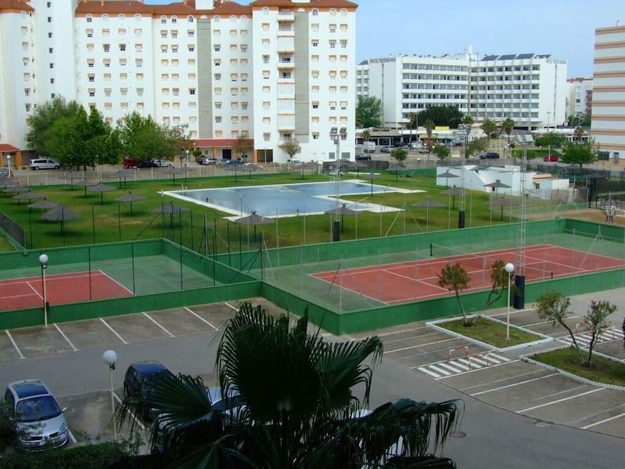 Zonas comunes urbanización