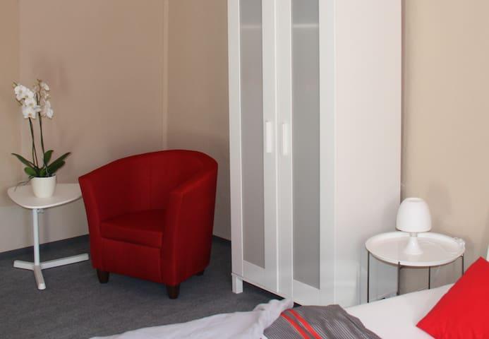 attraktives Zimmer im Zentrum - Jena - Daire