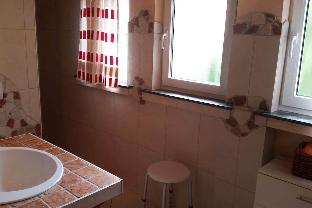 ... mit begehbarer Dusche