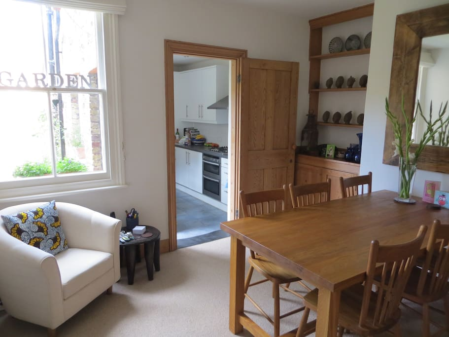 Shared use of the dining room