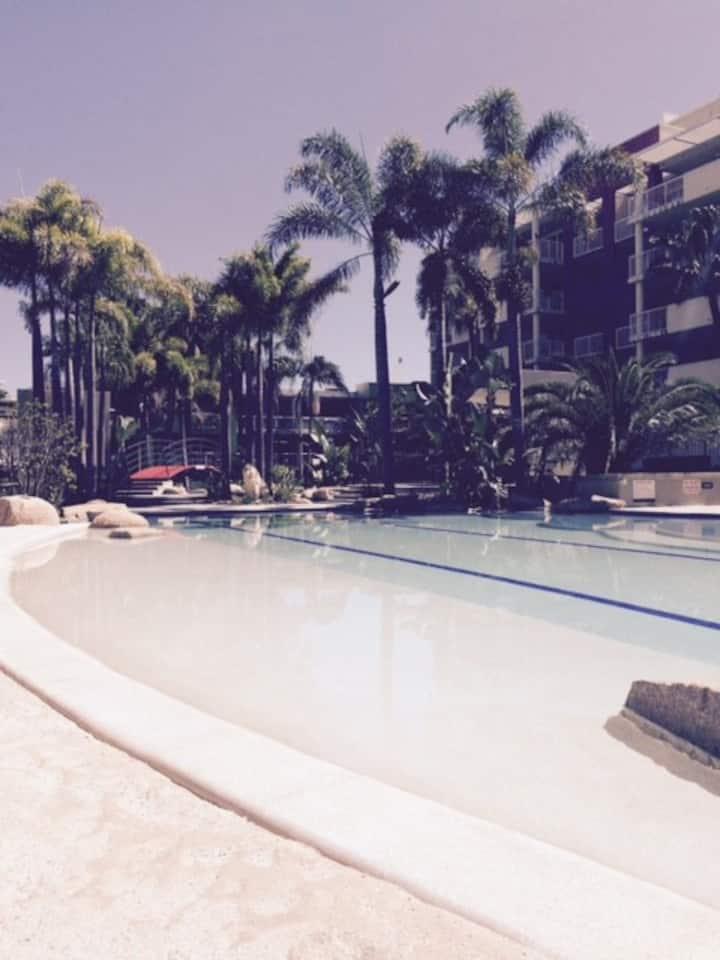 Perfect holiday resort accommodation