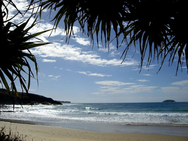 Saltwater Beachfront Accommodation - Emerald Beach - Pis